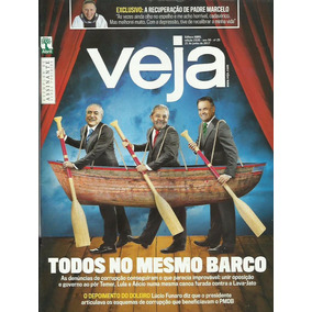 Veja 2535: Michel Temer / Aécio Neves / Padre Marcelo Rossi