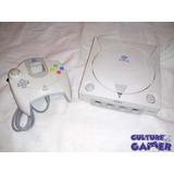 Dreamcast Consola Pal Y Control Espiral Azul Culture Gamer