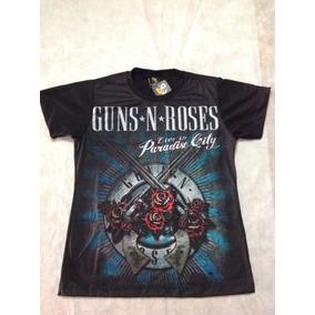 Guns And Roses - Baby Look Feminina Paradise City ac1211a55e8