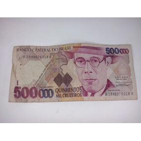 Notas Antigas Cedulas Dinheiro Antigo Notas Cruzeiros