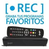 Ghia Sintonizador Digital Para Tv Con Grabacion En Usb Ga /r