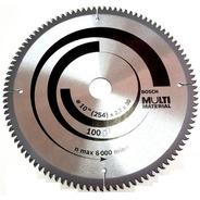 Hoja Sierra Circular Bosch Multimaterial 254 Mm 100 Dientes