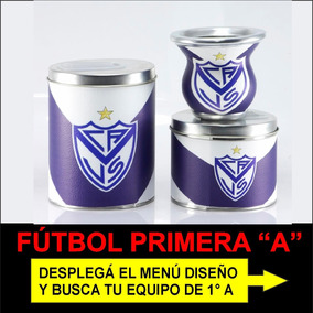 Set Matero Futbol Superliga Mate Kit Latas Envíos Gratis 3g