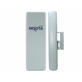 Antena Cpe Exterior 12 Dbi 150 Mbps 2.4ghz Nisuta Ns-cpe24n