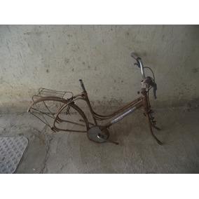 Antigo Quadro De Bicicleta Monark Brisa (cod.2614)