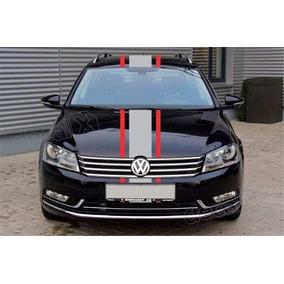 Adesivo Faixas Capo Teto Mala Volkswagen Golf Imp168