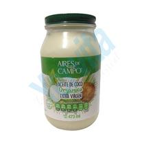 Aceite De Coco Extravirgen 473 Ml Aires De Campo