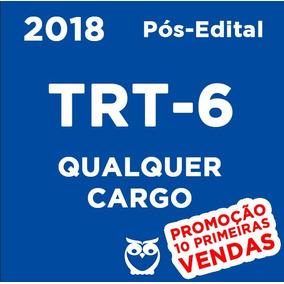 Trt (6-pe) (qualquer) 2018 (promoção 10 Primeiros)