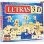 Letras 3d Tridimensional Juego De Mesa Original De Top Toys