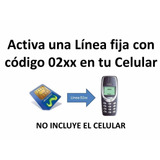 Linea Fija Movistar Chip Gsm Con Tu Codigo 02xx