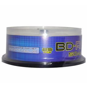 Disco Blu-ray 50 Gb Gtm Printeable 25 Unidades Factura Legal