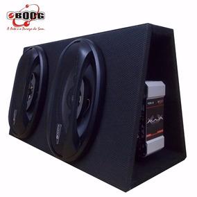Alto Auto Falante 6x9 Amplificado 360w Mdf Original B4x
