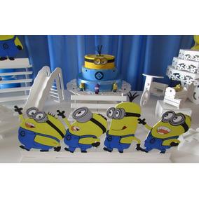 Kit Decoração Festa Minions!