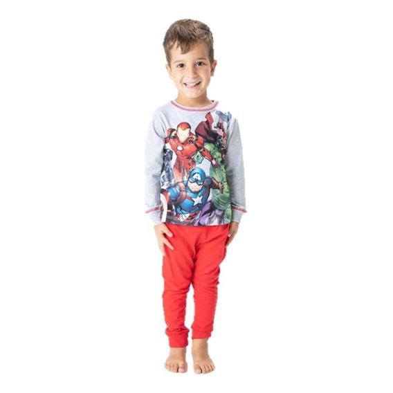 Pijama Avengers Marvel Iron Man Capitan America Thor Ni?o