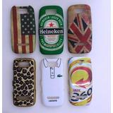 Kit Capa Para Celular Nokia Asha 305 Com 6 Unidades