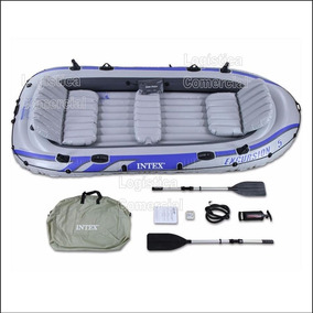Bote Excursion 5 Intex + Remos Aluminio+bomba+bolso 68325