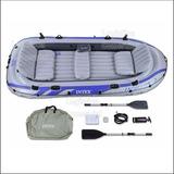 Bote Excursion 5 Intex + Remos Aluminio+bomba+bolso 68325