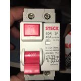 Disyuntor Diferencial Steck 2 X 40a Nuevos Sin Uso.