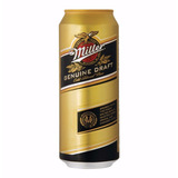 Cerveza Miller Lata X 473 Cc X U.