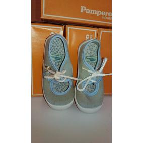 Zapatillas Pampero Niñas Guillermina C/cordon N°24 - Oferta!