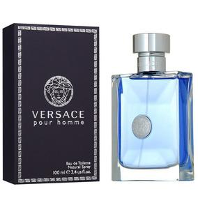 Perfume Versace Pour Homme 100ml Edt Original E Lacrado