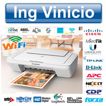 Impresora Multifuncion Wifi Canon Pixma Mg2910 Color Tinta
