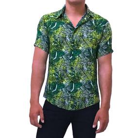 Camisa Thomas Bishop Hawaiana Hombre Manga Corta