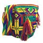 Wayuu Mochila Bag 100% Colombian Ethnic Hand Woven Lar W68