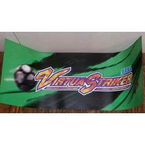 Vendo Virtua Striker Combo De Sega Original