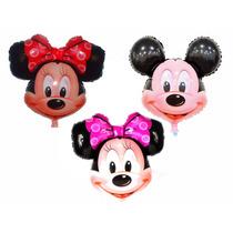 Balão Metalizado Mickey / Minnie 55x50cm