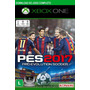 Pes 17 Xbox One Codigo 25 Digitos Midia Digital Original