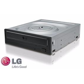 Gravador De Dvd Lg 24x Dual Layer Sata Preto Fosco Gh24nsc0