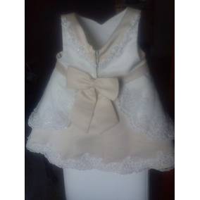 Vestido De Gala Niña Talla 2 Bautizo, Matrimonio