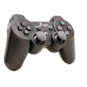 Kit 2 Controle Playstation 3 E Pc Sem Fio Com Bluetooth Game