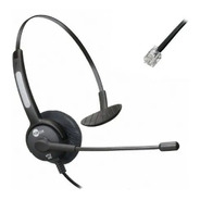Headset Rj9 Topuse Htu300 P/ Telefone Ip Grandstream/yealink