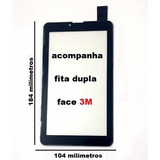 Tela Touch Tablet Aoc A724g 3g 7 Polegadas