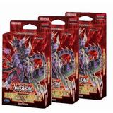3 X Yugioh Mazos Deck Dinosmashers Fury