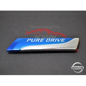 Logo Emblema Pure Drive X-terra 2006 Nissan Original