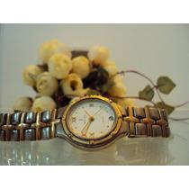 Relógio Unissex Monte Carlo Prateado Fundo Branco