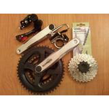 Kit Transmision Cambios Shimano 21 Vel Mtb Bicicletas