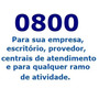 0800 Exclusivo - Empresas, Provedores, Etc - Plano R$ 200,00