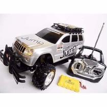 Jeep Carrinho Controle Remoto Bateria Recarregável