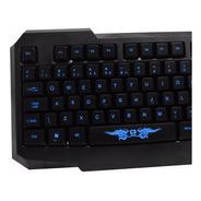 Teclado Gamer Usb C3tech Kg-02l Bk Iluminado C3tech