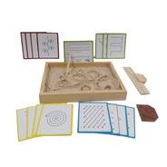 Ingeniacreaa Pack Bandeja Montessori + Tarjetas Didáctico