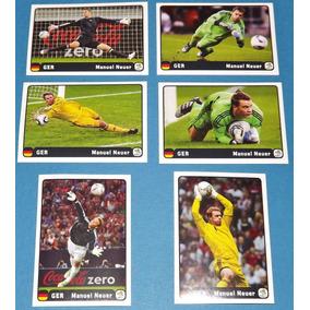 Euro 2012 - 6 Figurinhas Extras Manuel Neuer Coca-cola