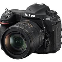 Camera Digital Nikon D500 Dslr 20.9mp Lente 16-80mm Nikkor