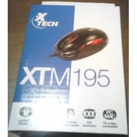 Mouses Usb Xteck Modelo Xtm195
