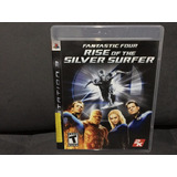 Jogo / Game Ps3 - Fantastic Four Rise Of The Silver Surfer