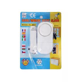 Sensor Magnético S/ Fio Porta E Janelas Anti Furto Roubo