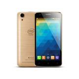 Smartphone Qbex X Gold Intel W509 Dourado